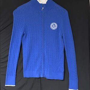 Ralph Lauren Active Zip Sweater Sz M